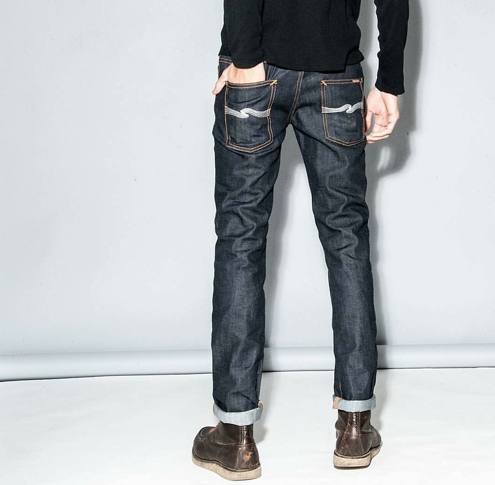 THIN FINN シンフィン Nudie Jeans ヌーディジーンズ ホワイトステッチ