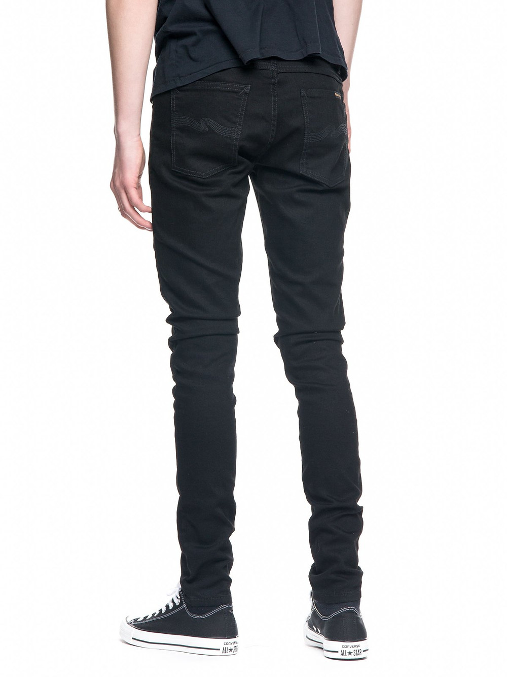 Tight Terry Deep Black タイトテリー ディープブラック nudiejeans