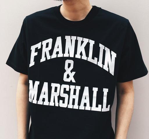 FRANKLIN&MARSHALのTシャツがイイ雰囲気♪
