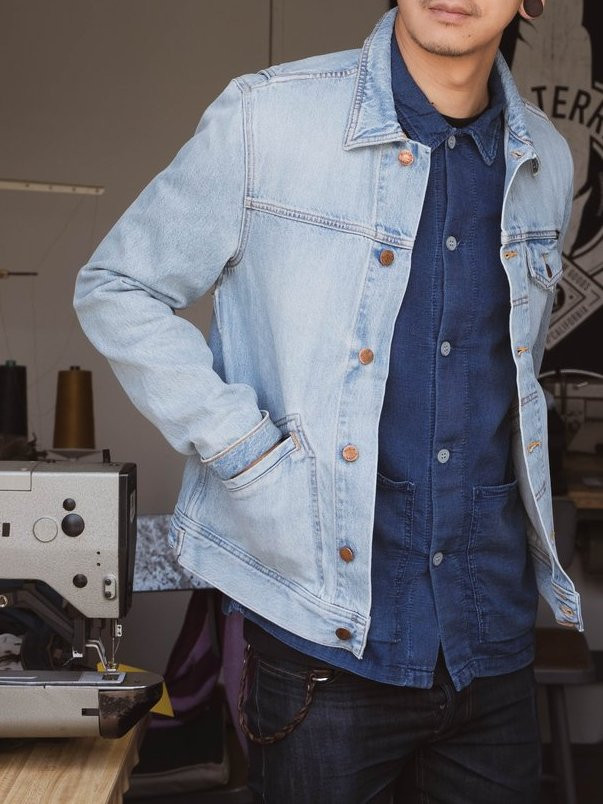 Nudie Jeans TOMMY ヌーディジーンズ トミー デニムジャケット DENIM Jacket