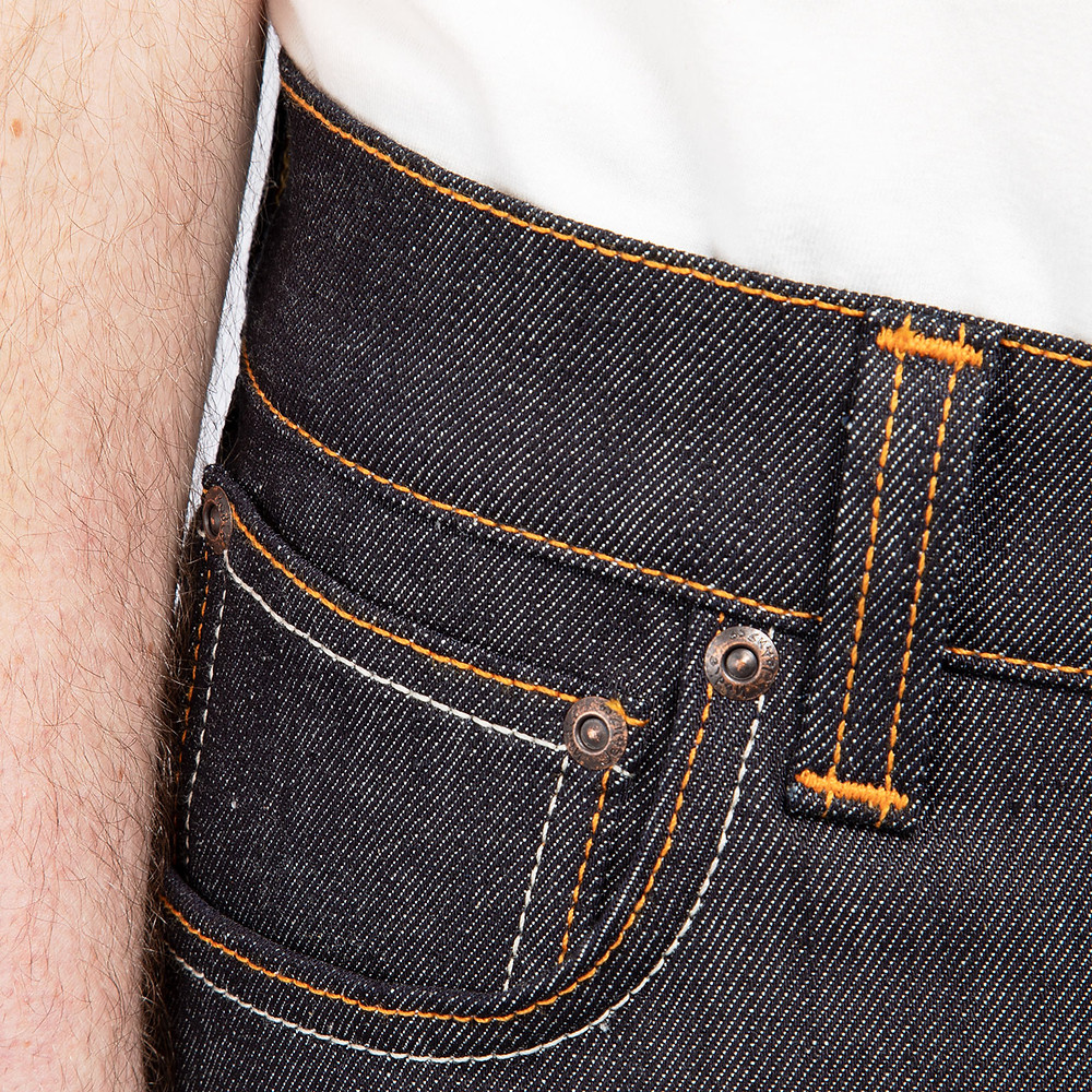 THIN FINN シンフィン Nudie Jeans ヌーディジーンズ オレンジステッチ