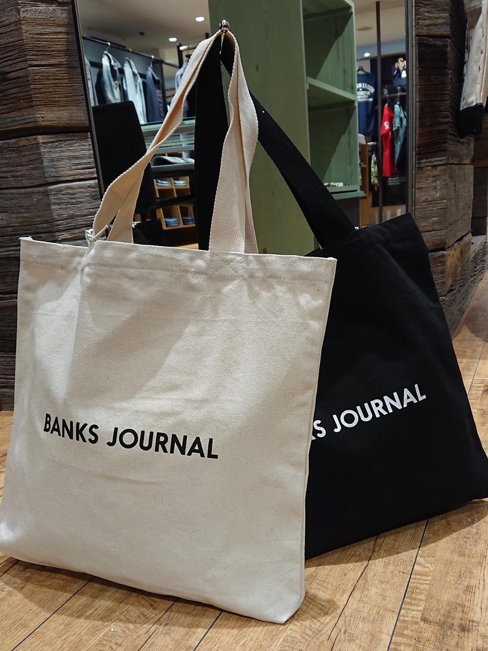 BANKS JOURNAL Tシャツ バンクス SAFARI トートバッグ