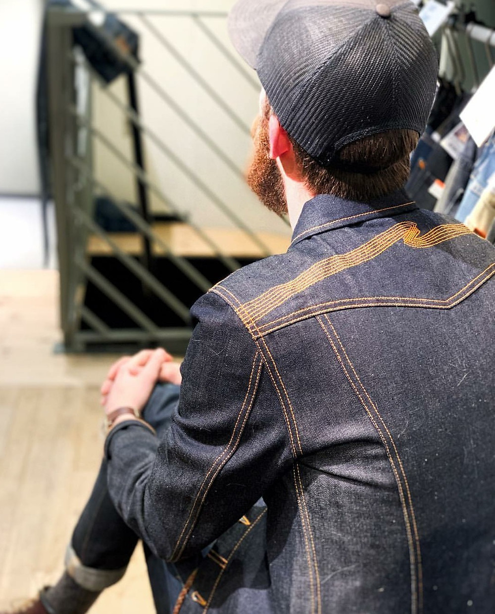 nudiejeans kenny denimjacket ヌーディージーンズ デニジャケ