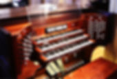 St. Alban's Organ Console