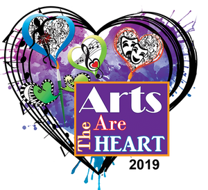 Arts Are The Heart 2019 logo