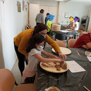 Atelier Sculpture - Virginie Cétaire - Mars 2021