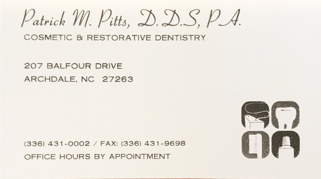 Pitts Dentistry