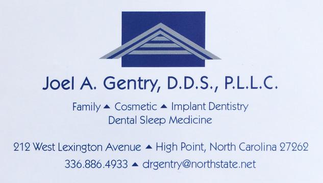 Joel A. Gentry, D.D.S., P.L.L.C.