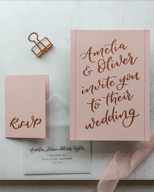 Grey and Copper stationary