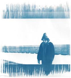 Self Portrait - Cyanotype