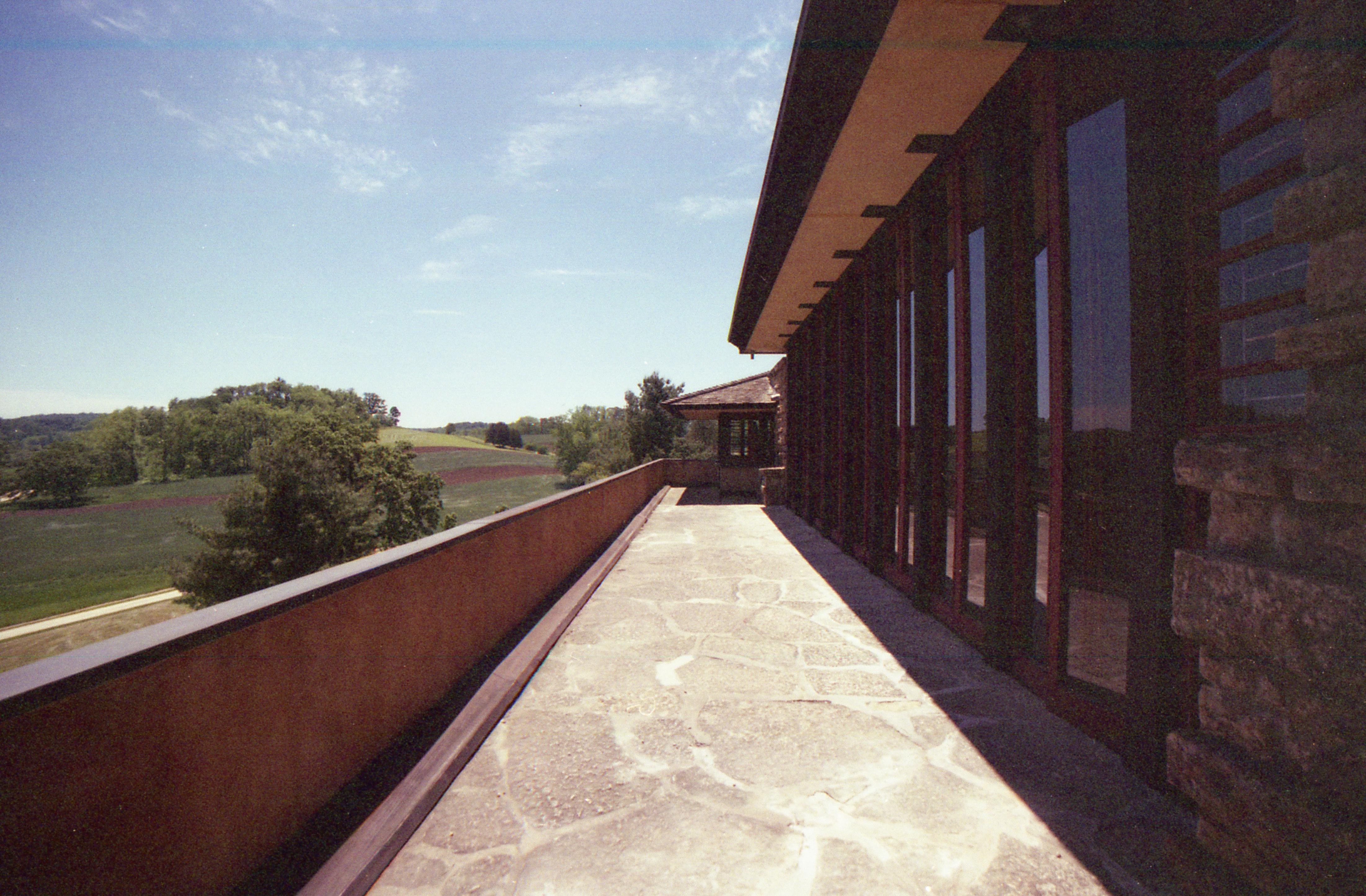 Taliesin (terrace)
