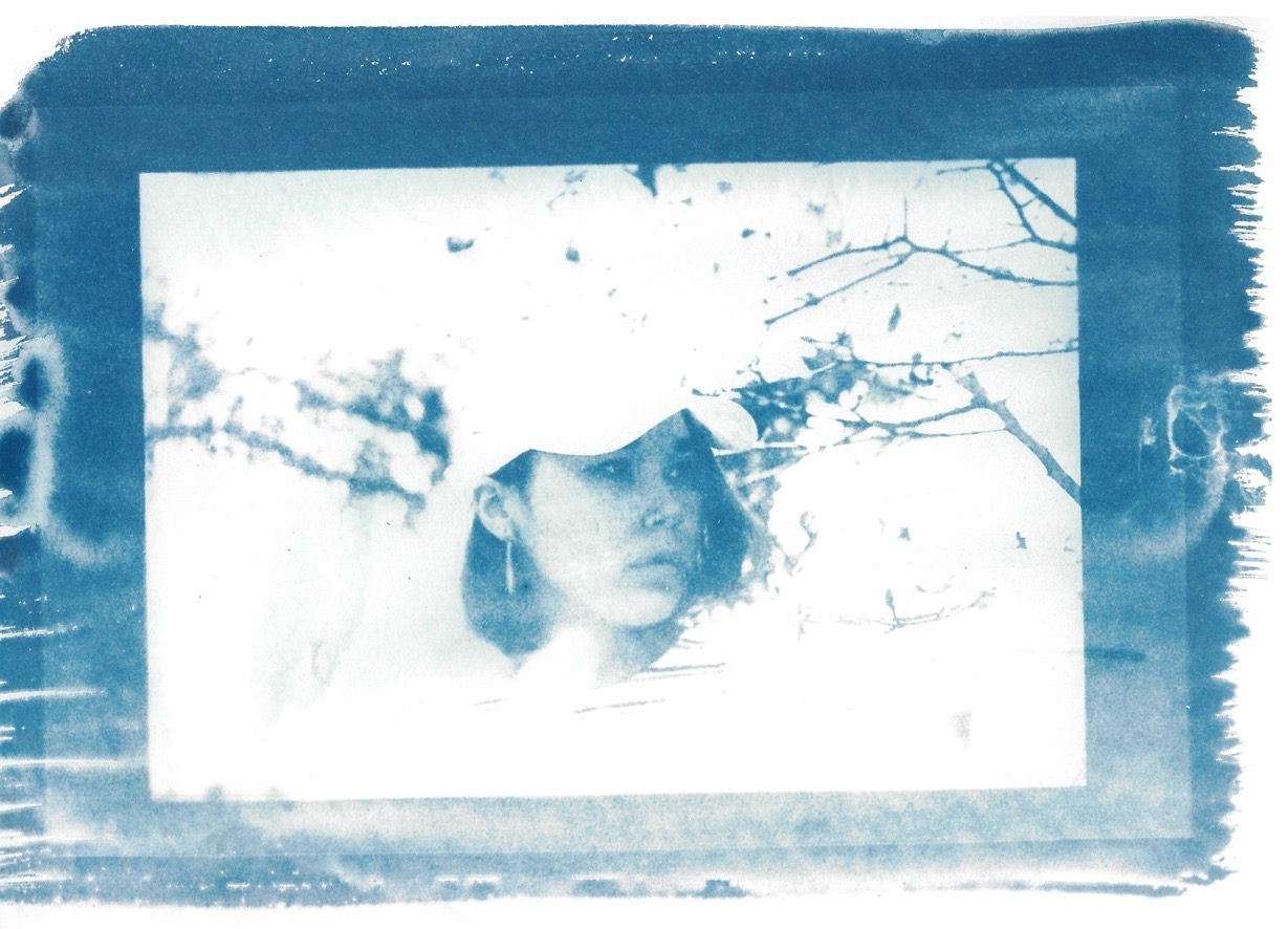Kate - Cyanotype