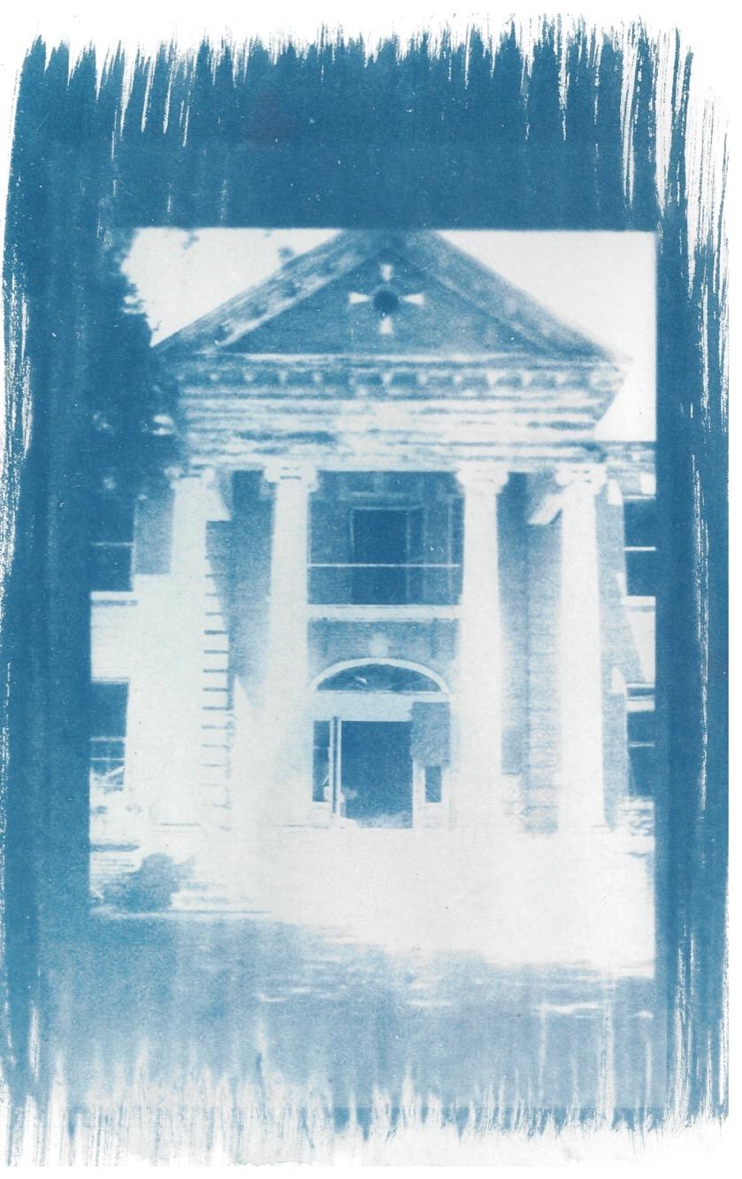 Stonewall Jackson - Cyanotype