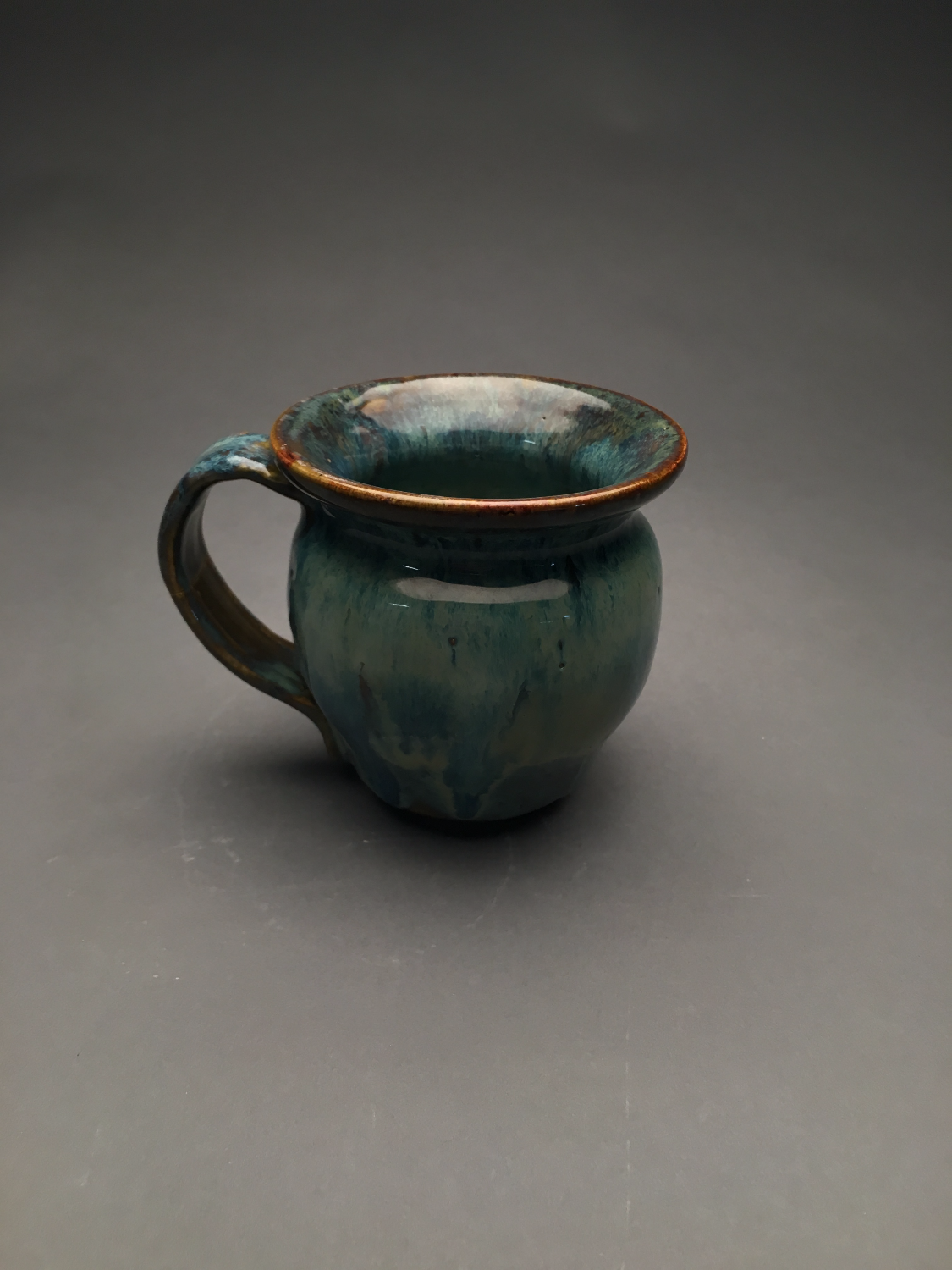1 of 4 thrown mugs