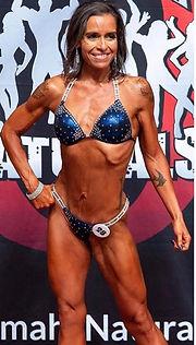 Beginner bikini bodybuilding competito