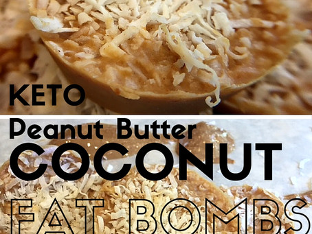 Keto Coconut Peanut Butter Fat Bombs