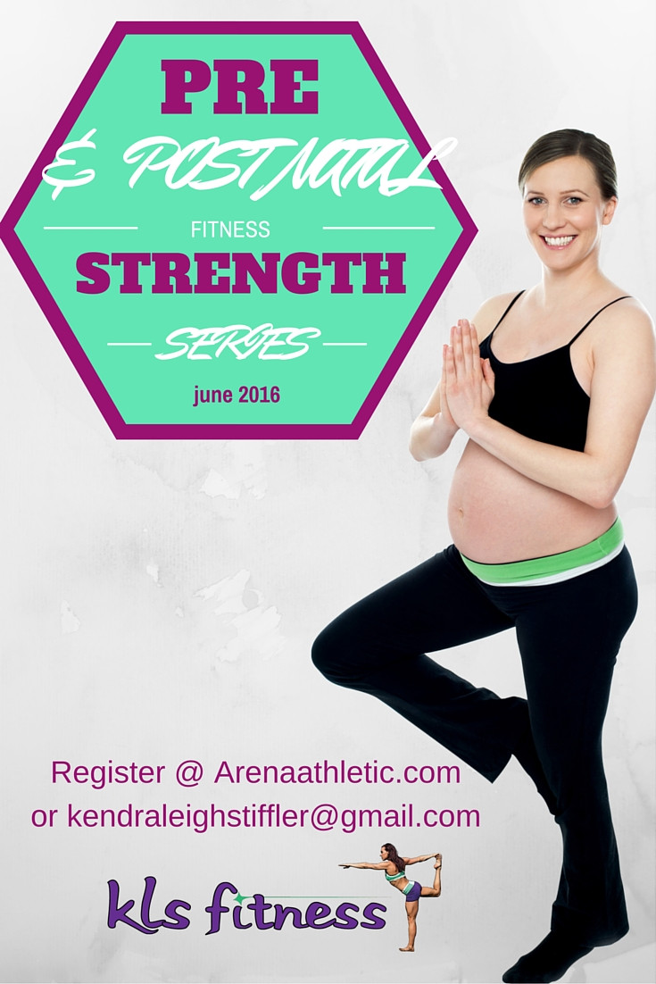 KLS Fitness, Columbus Ohio  Fit for Birth Strength Class