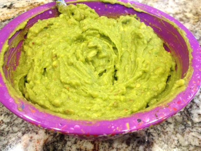 5 minute clean guacamole