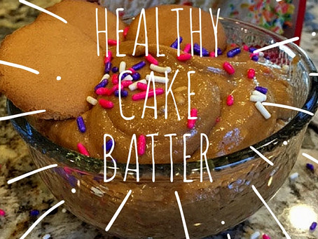 Healthy Cake Batter Spread; Recipe Review