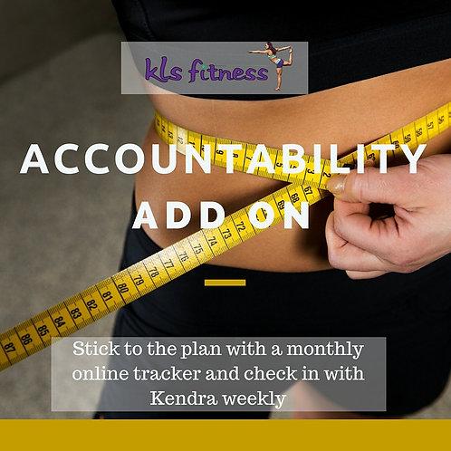 Accountability Add-On (12 Week Tone Up)