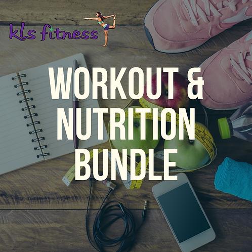 Workout & Nutrition Bundle | Custom