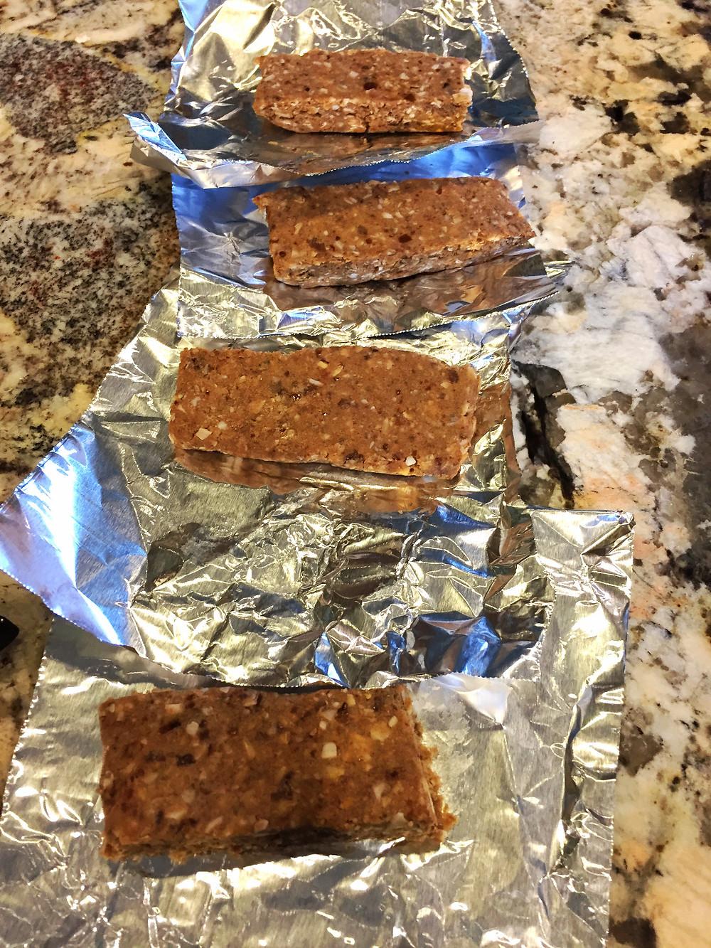 no bake high energy protein bars