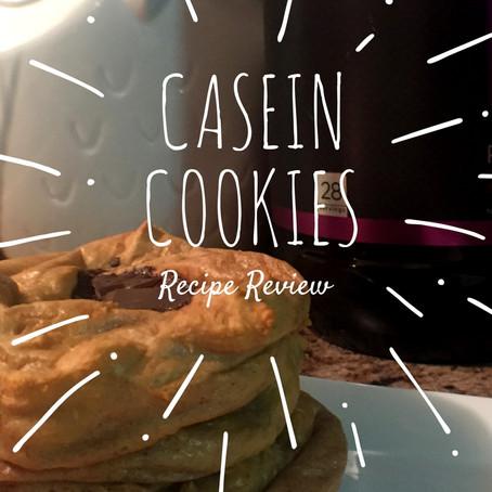 Casein Cookies & Casein vs. Whey Protein