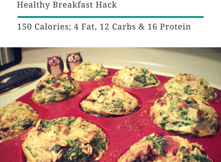 Egg Bites  - Easy and under 100 Calories