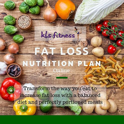 Custom Fat Loss Nutrition (ONLINE)