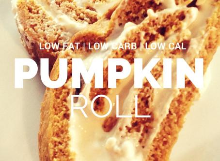 Low Fat, Low Carb, Low Cal Pumpkin Roll