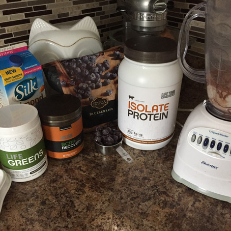 Double Chocolate Smoothie | 200 Calories