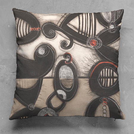 Jazztones #2  Pillow