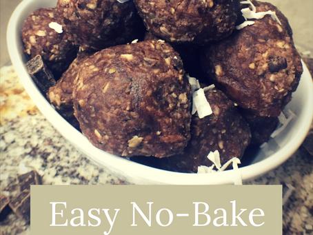 Easy No-Bake Oat Bites