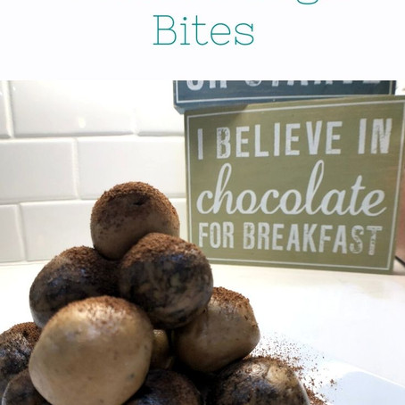Cookie Dough Bites & Six Week Post-Partum Thoughts