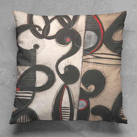Jazztones #3 Pillow