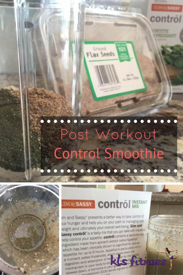 Post Worokut  Control Smoothie KLS Fitness