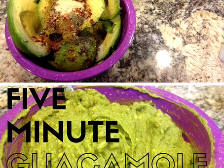 5 Minute Guacamole - 100 Calories