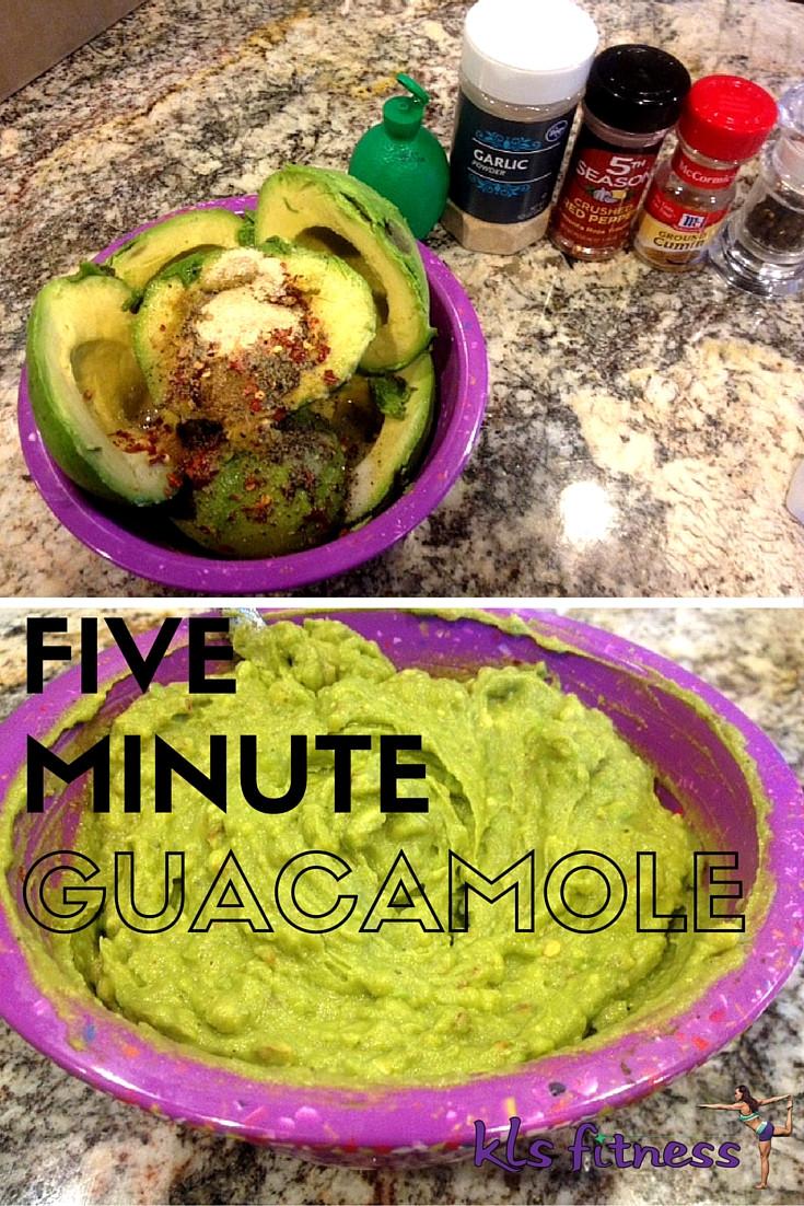 5 Minute Guacamole | kls fitness