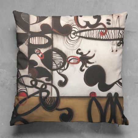 Soul of Jazz #1 Pillow