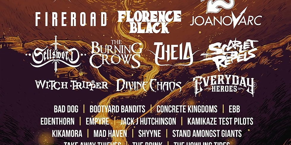 POSTPONED - FEAR NO BEER TOUR - Wildfire Festival