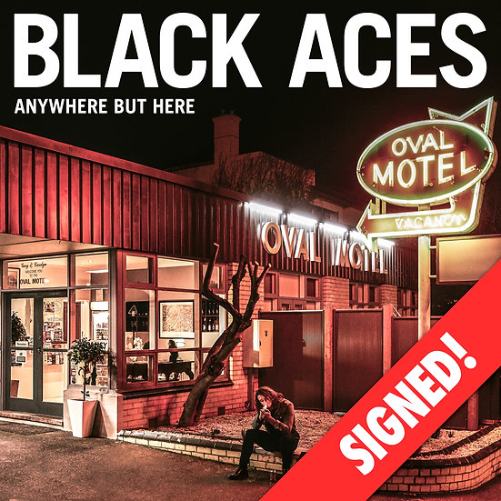 Anywhere But Here - Signed (CD)