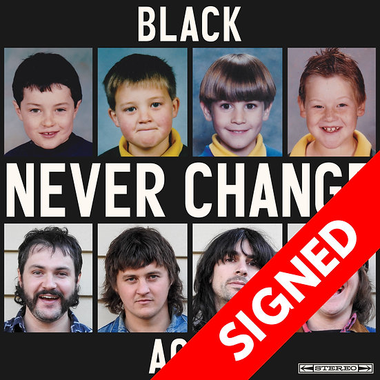 Never Change EP - Signed CD