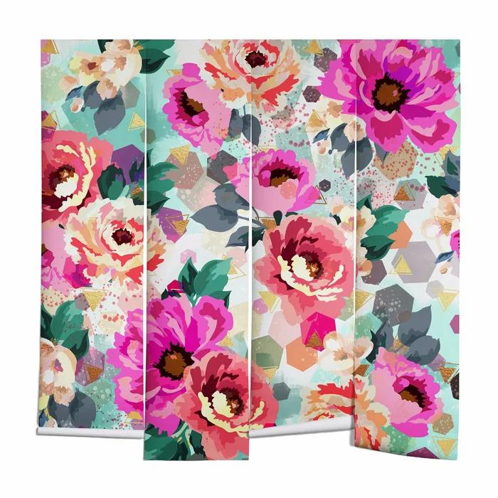 pinkMarta+Barragan+Camarasa+Flowers+Wall