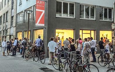 Vernissage bei ART Galerie 7, Köln