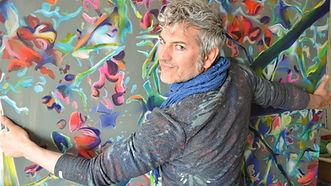 Armin Scheid in seinem Kölner Atelier