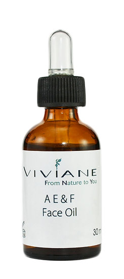 Vitamin A, E & F Face Oil 30 ml