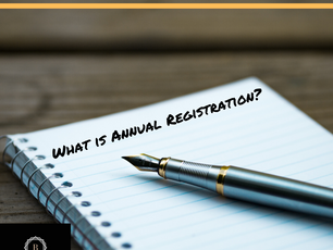 WHAT IS WEDNESDAY: Annual Registration