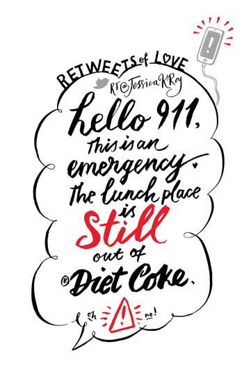 Diet Coke's ReTweets of Love (4/5)