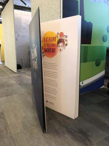 Papyrus UK's 'Bedtime Stories' - giant book prop!