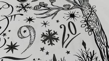 Inkymole for Diamine's 'Inkvent Calendar'.mp4